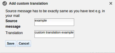 Post Affiliate Pro Custom Translation Dialog
